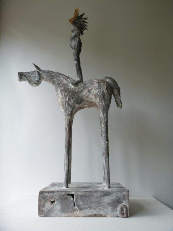 Valerie Price-West Let the fun begin - hare stood (2)